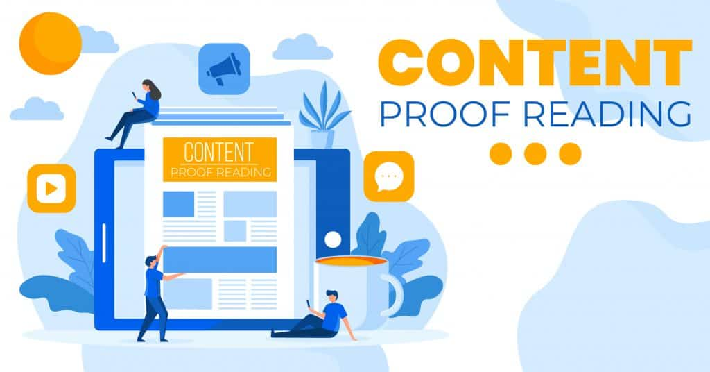 content proof reading services