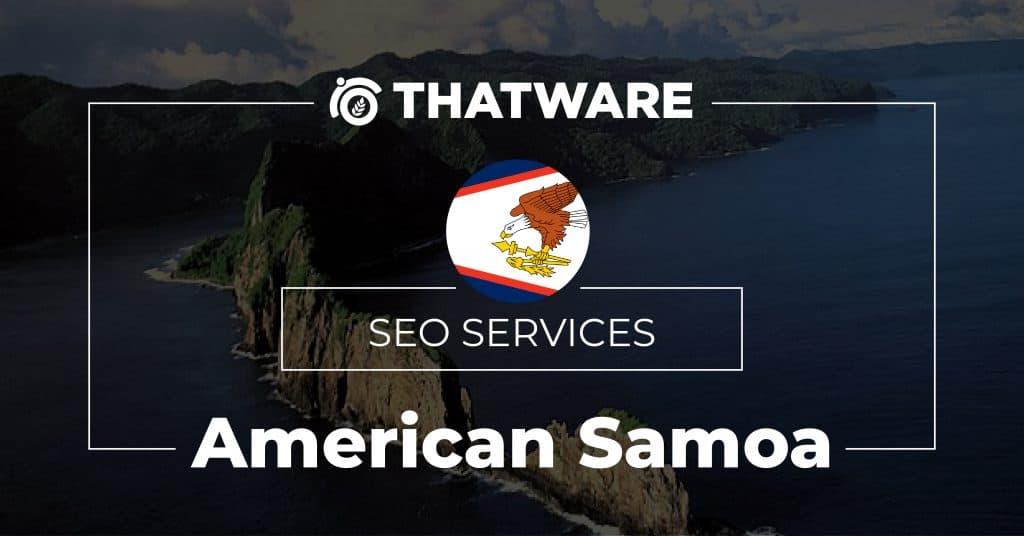 SEO services American Samoa