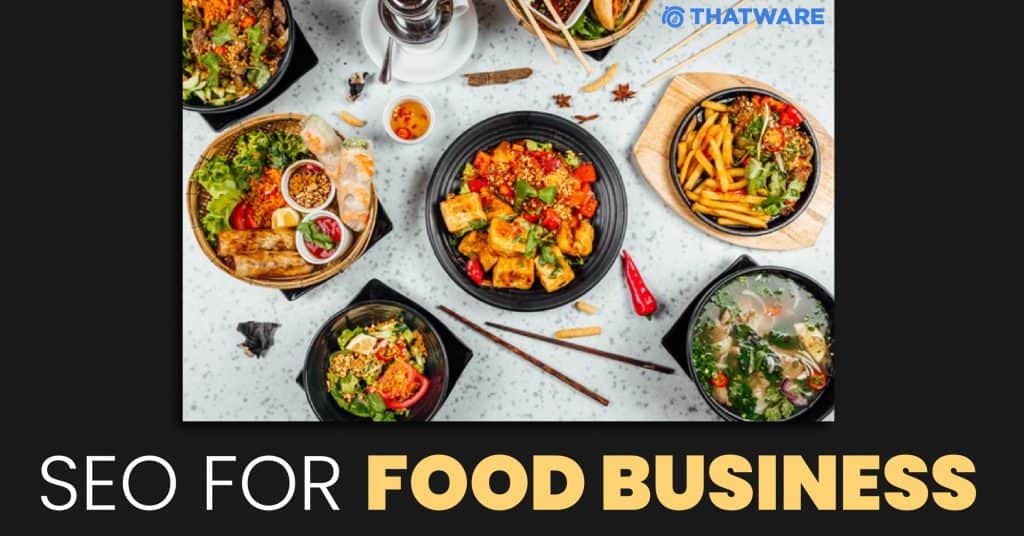 SEO services for food business