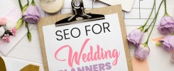 SEO services for Wedding Planners