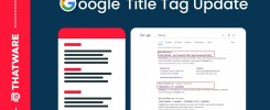 Google Title Tag Update